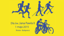 Bieg dla Jana Pawła II Rowerowa Brzoza Biega