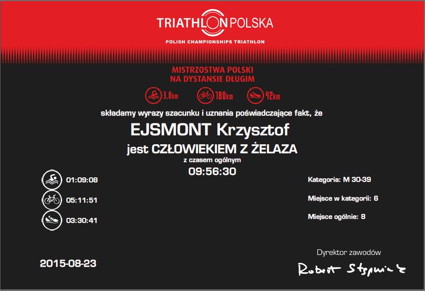 wyniki bydgoszcz borówno triathlon polska