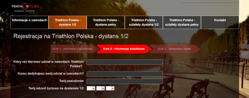 Zapisy Triathlon Polska 2016
